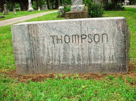 THOMPSON HEADSTONE,  - Benton County, Arkansas |  THOMPSON HEADSTONE - Arkansas Gravestone Photos