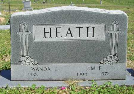 HEATH, JIM F. - Benton County, Arkansas | JIM F. HEATH - Arkansas Gravestone Photos