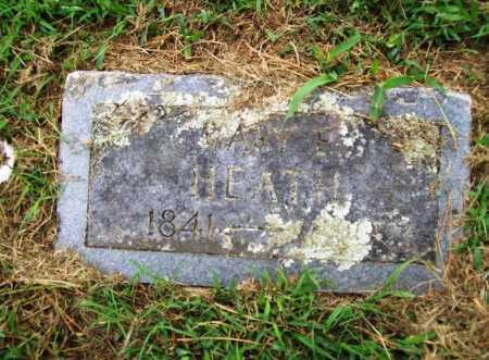 HEATH, MARY E. - Benton County, Arkansas | MARY E. HEATH - Arkansas Gravestone Photos