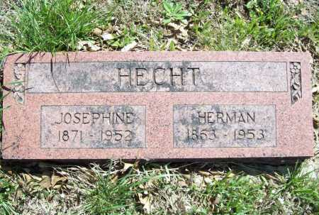 HECHT, HERMAN - Benton County, Arkansas | HERMAN HECHT - Arkansas Gravestone Photos