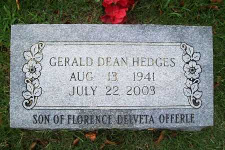 HEDGES, GERALD DEAN - Benton County, Arkansas | GERALD DEAN HEDGES - Arkansas Gravestone Photos