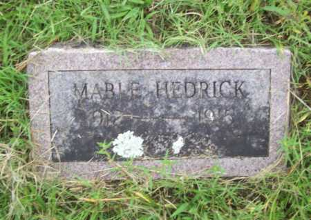 HEDRICK, MABLE - Benton County, Arkansas | MABLE HEDRICK - Arkansas Gravestone Photos