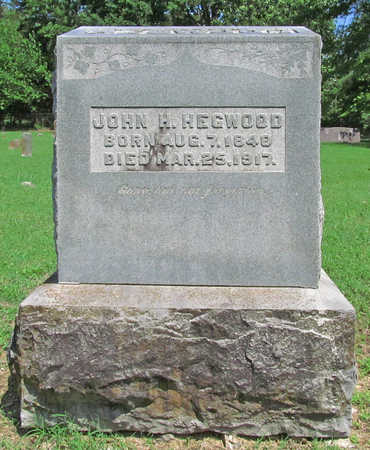 HEGWOOD (VETERAN CSA), JOHN H - Benton County, Arkansas | JOHN H HEGWOOD (VETERAN CSA) - Arkansas Gravestone Photos