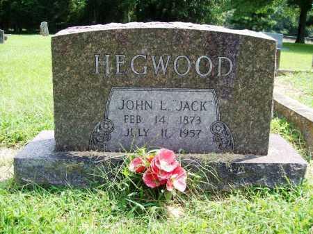 "HEGWOOD, JOHN L. ""JACK"" - Benton County, Arkansas | JOHN L. ""JACK"" HEGWOOD - Arkansas Gravestone Photos"