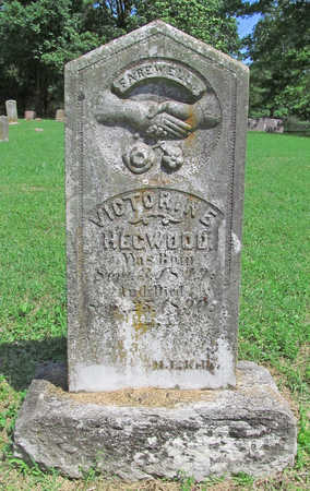 HEGWOOD, VICTORINE - Benton County, Arkansas | VICTORINE HEGWOOD - Arkansas Gravestone Photos