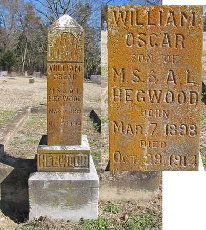 HEGWOOD, WILLIAM OSCAR - Benton County, Arkansas | WILLIAM OSCAR HEGWOOD - Arkansas Gravestone Photos