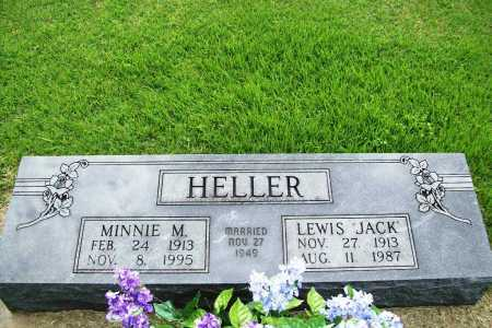 "HELLER, LEWIS ""JACK"" - Benton County, Arkansas | LEWIS ""JACK"" HELLER - Arkansas Gravestone Photos"