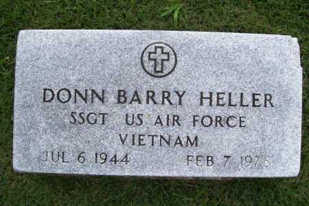 HELLER (VETERAN VIET), DONN BARRY - Benton County, Arkansas | DONN BARRY HELLER (VETERAN VIET) - Arkansas Gravestone Photos