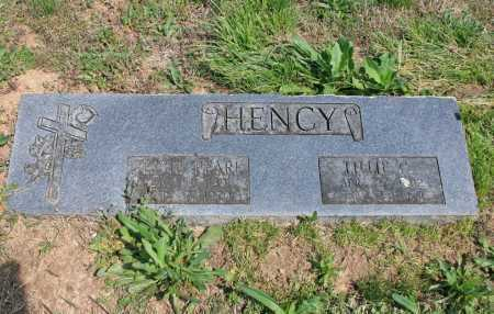 HENCY, JESSIE PEARL - Benton County, Arkansas | JESSIE PEARL HENCY - Arkansas Gravestone Photos