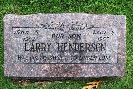 HENDERSON, LARRY - Benton County, Arkansas | LARRY HENDERSON - Arkansas Gravestone Photos