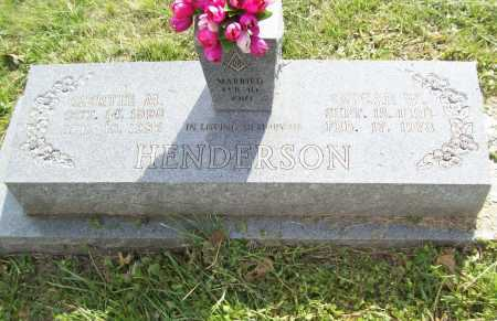HENDERSON, OSCAR W. - Benton County, Arkansas | OSCAR W. HENDERSON - Arkansas Gravestone Photos