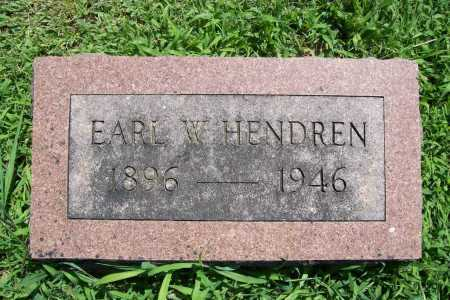 HENDREN, EARL W. - Benton County, Arkansas | EARL W. HENDREN - Arkansas Gravestone Photos