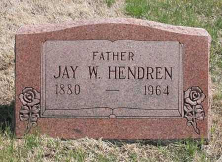 HENDREN, JAY W. - Benton County, Arkansas | JAY W. HENDREN - Arkansas Gravestone Photos