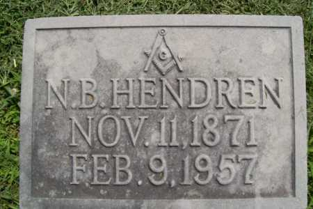 HENDREN, N. B. - Benton County, Arkansas | N. B. HENDREN - Arkansas Gravestone Photos