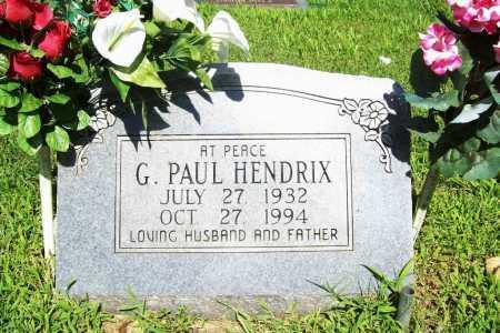 HENDRIX, G. PAUL - Benton County, Arkansas | G. PAUL HENDRIX - Arkansas Gravestone Photos