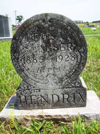 MISER HENDRIX, LEONA - Benton County, Arkansas | LEONA MISER HENDRIX - Arkansas Gravestone Photos