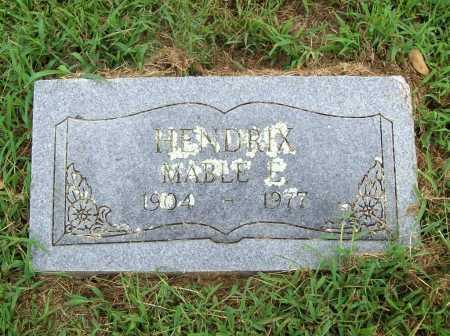 HENDRIX, MABLE E. - Benton County, Arkansas   MABLE E. HENDRIX - Arkansas Gravestone Photos