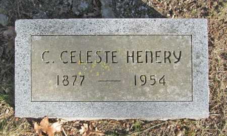 HENERY, C. CELESTE - Benton County, Arkansas | C. CELESTE HENERY - Arkansas Gravestone Photos