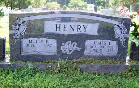 HENRY, JAMES T. - Benton County, Arkansas | JAMES T. HENRY - Arkansas Gravestone Photos