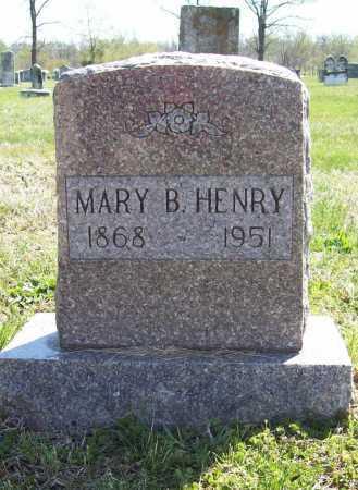 HENRY, MARY B. - Benton County, Arkansas | MARY B. HENRY - Arkansas Gravestone Photos