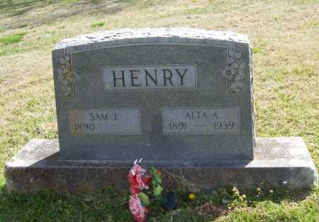 HENRY, ALTA A. - Benton County, Arkansas | ALTA A. HENRY - Arkansas Gravestone Photos