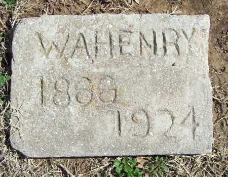 HENRY, W. A. - Benton County, Arkansas | W. A. HENRY - Arkansas Gravestone Photos