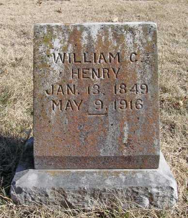 HENRY, WILLIAM C - Benton County, Arkansas | WILLIAM C HENRY - Arkansas Gravestone Photos
