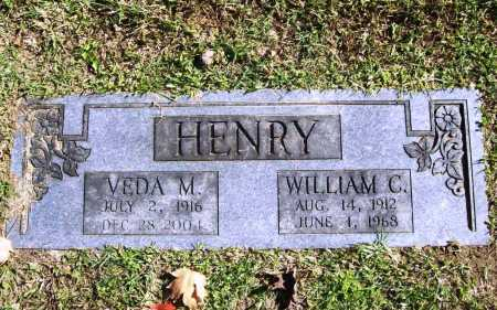 HENRY, WILLIAM C. - Benton County, Arkansas | WILLIAM C. HENRY - Arkansas Gravestone Photos
