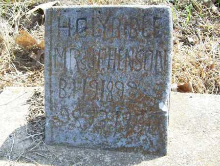 HENSON, MRS. J. F. - Benton County, Arkansas | MRS. J. F. HENSON - Arkansas Gravestone Photos