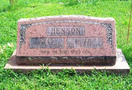 HENSON, DORA L. - Benton County, Arkansas | DORA L. HENSON - Arkansas Gravestone Photos