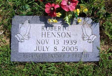 HENSON, ROBERT L. - Benton County, Arkansas | ROBERT L. HENSON - Arkansas Gravestone Photos