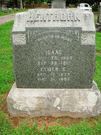 HENTHORN, ELMER C. - Benton County, Arkansas | ELMER C. HENTHORN - Arkansas Gravestone Photos