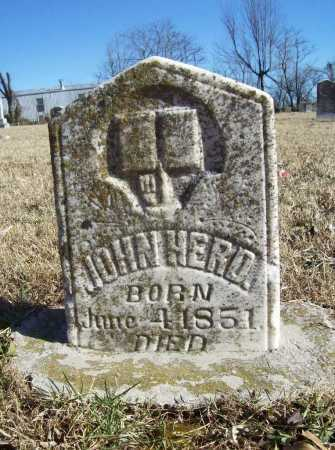 HERD, JOHN - Benton County, Arkansas | JOHN HERD - Arkansas Gravestone Photos