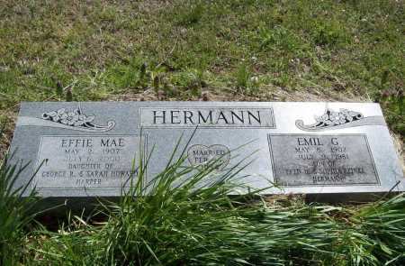 HERMANN, EFFIE MAE - Benton County, Arkansas | EFFIE MAE HERMANN - Arkansas Gravestone Photos