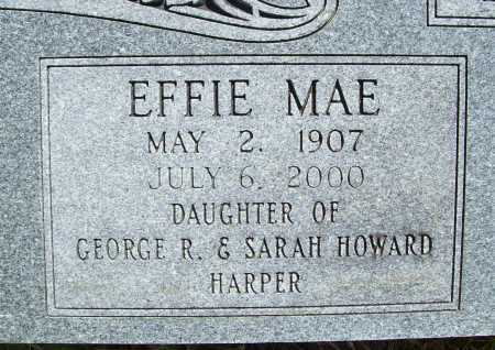 HARPER HERMANN, EFFIE MAE (CLOSEUP) - Benton County, Arkansas | EFFIE MAE (CLOSEUP) HARPER HERMANN - Arkansas Gravestone Photos