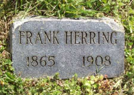 HERRING, FRANK - Benton County, Arkansas | FRANK HERRING - Arkansas Gravestone Photos