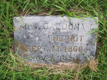HERRIT, CALDONA C. - Benton County, Arkansas | CALDONA C. HERRIT - Arkansas Gravestone Photos