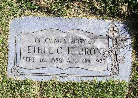 HERRON, ETHEL C. - Benton County, Arkansas | ETHEL C. HERRON - Arkansas Gravestone Photos
