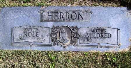 HERRON, NOLE - Benton County, Arkansas | NOLE HERRON - Arkansas Gravestone Photos