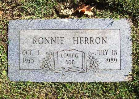 HERRON, RONNIE - Benton County, Arkansas | RONNIE HERRON - Arkansas Gravestone Photos