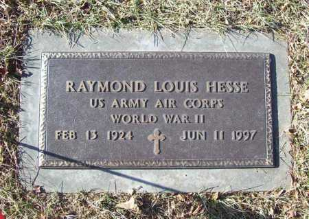 HESSE (VETERAN WWII), RAYMOND LOUIS - Benton County, Arkansas | RAYMOND LOUIS HESSE (VETERAN WWII) - Arkansas Gravestone Photos