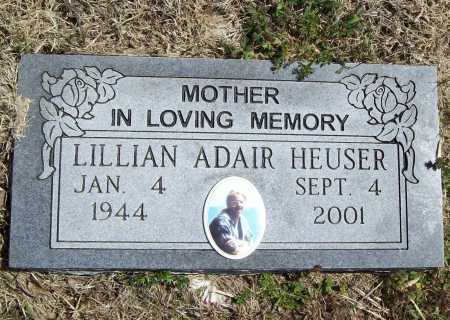 HEUSER, LILLIAN - Benton County, Arkansas | LILLIAN HEUSER - Arkansas Gravestone Photos