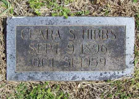 HIBBS, CLARA S. - Benton County, Arkansas | CLARA S. HIBBS - Arkansas Gravestone Photos
