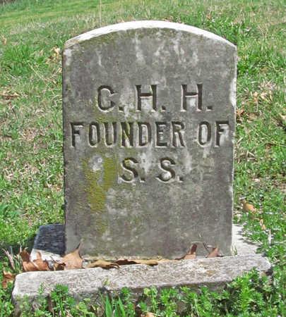 HIBLER, CHARLES H - Benton County, Arkansas | CHARLES H HIBLER - Arkansas Gravestone Photos
