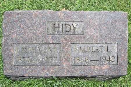 HIDY, MAHALIA - Benton County, Arkansas | MAHALIA HIDY - Arkansas Gravestone Photos