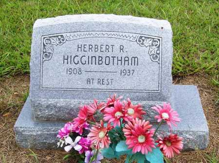HIGGINBOTHAM, HERBERT R. - Benton County, Arkansas | HERBERT R. HIGGINBOTHAM - Arkansas Gravestone Photos