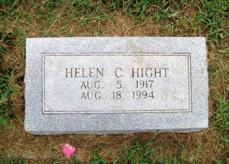 HIGHT, HELEN C. - Benton County, Arkansas | HELEN C. HIGHT - Arkansas Gravestone Photos