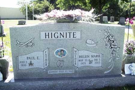 HIGNITE, HELEN MARIE - Benton County, Arkansas | HELEN MARIE HIGNITE - Arkansas Gravestone Photos