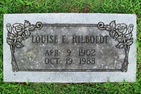 HILBOLDT, LOUISE E. - Benton County, Arkansas | LOUISE E. HILBOLDT - Arkansas Gravestone Photos
