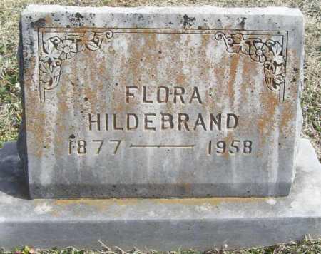 HILDEBRAND, FLORA - Benton County, Arkansas | FLORA HILDEBRAND - Arkansas Gravestone Photos
